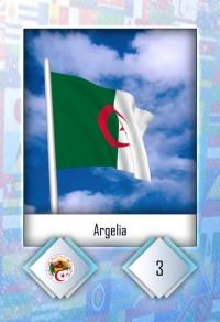 Argelia. Cromo 3