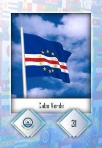 Cabo Verde. Cromo 31