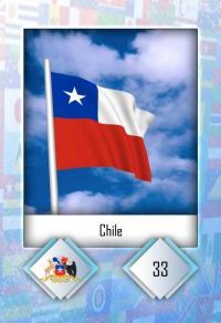 Cromo 33. Chile