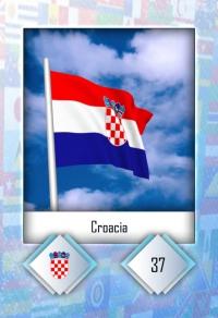 Croacia. Cromo 37