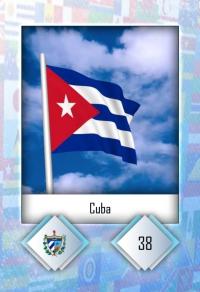 Cuba. Cromo 38