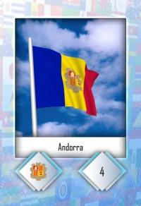 Andorra. Cromo 4