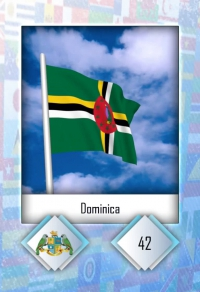 Dominica. Cromo 42