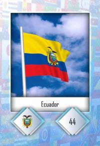 Ecuador. Cromo 44