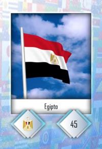 Egipto. Cromo 45