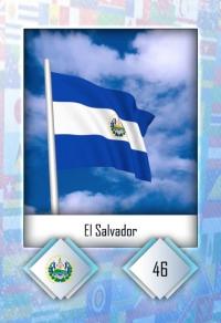 Cromo 46. El Salvador