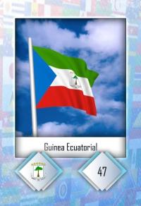 Cromo 47. Guinea Ecuatorial