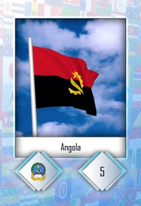 Angola. Cromo 5