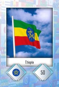 Cromo 50. Etiopía