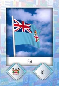 Fiyi. Cromo 51