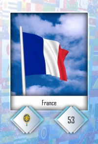 Cromo 53. France
