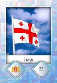 Georgia. Cromo 55