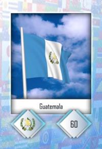 Cromo 60. Guatemala