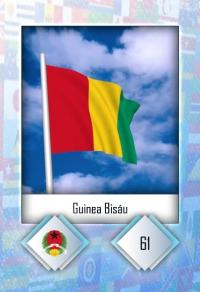 Cromo 61. Guinea Bisáu