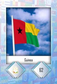 Guinea. Cromo 62