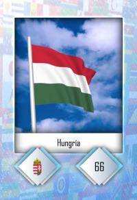 Hungría. Cromo 66