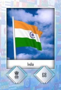 Cromo 68. India