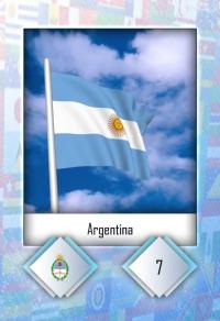 Cromo 7. Argentina