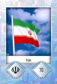 Cromo 70. Irán