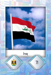 Cromo 71. Iraq