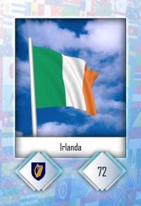 Cromo 72. Irlanda