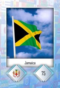 Jamaica. Cromo 75
