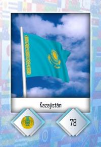 Kazajistán. Cromo 78