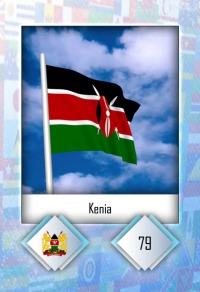 Kenia. Cromo 79