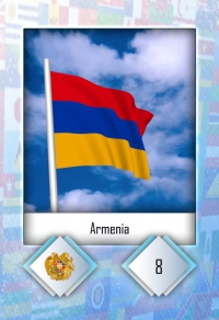 Armenia. Cromo 8