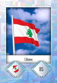 Cromo 85. Líbano