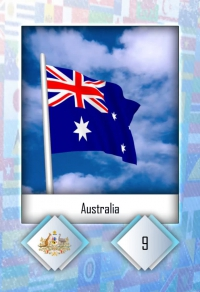 Cromo 9. Australia