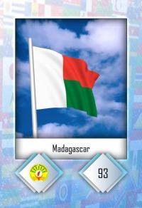 Madagascar. Cromo 93