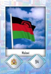 Malawi. Cromo 94