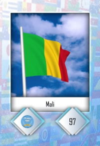 Cromo 97. Mali