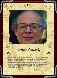 Cromo 24. Arthur Peacocke