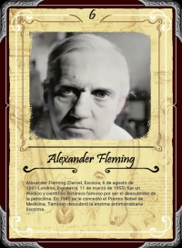 Cromo 6. Alexander Fleming